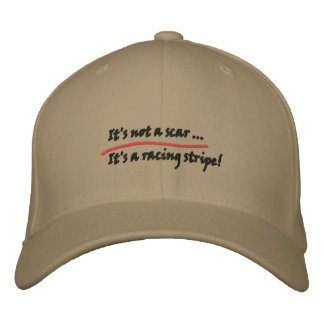 Motivational cap embroidered hat