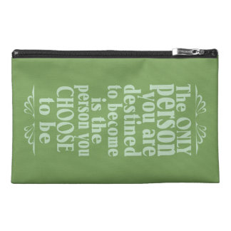 Motivational CHOICE accessory bags