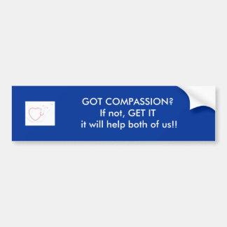 Motivational Compassion Bumper Sticker