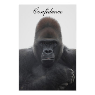 Motivational Confidence Poster