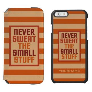 Motivational custom monogram case wallets incipio watson™ iPhone 6 wallet case