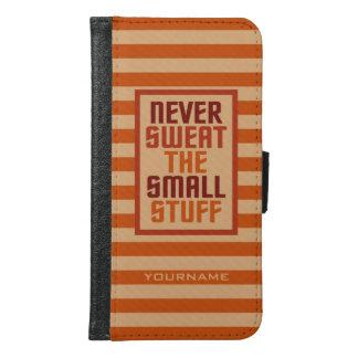 Motivational custom name phone wallets