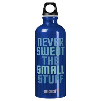 Motivational custom name water bottles