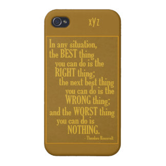 """Motivational """"Do Something"""" Quote cases iPhone 4/4S Case"""