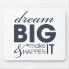 Motivational Dream Work Success Mouse Mat