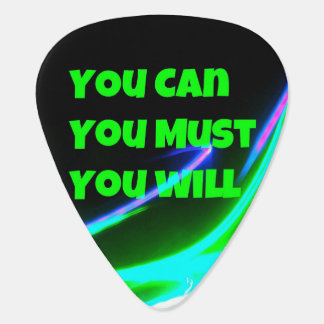 Motivational Guitar Picks Pick