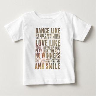 motivational inspirational baby T-Shirt