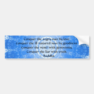 Motivational Inspirational Buddha Quote Bumper Sticker