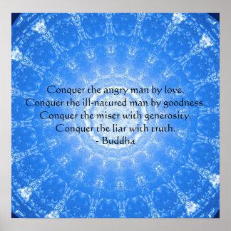 Motivational Inspirational Buddha Quote Poster