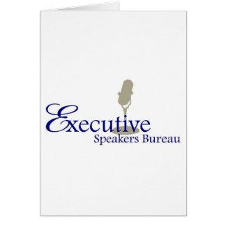 Motivational Keynote Speakers Greeting Card
