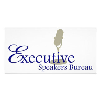 Motivational Keynote Speakers Personalised Photo Card