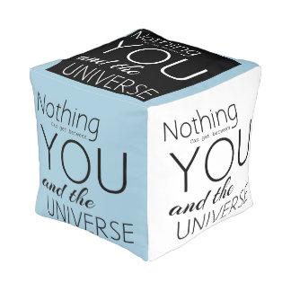 Motivational Cube Pouffe