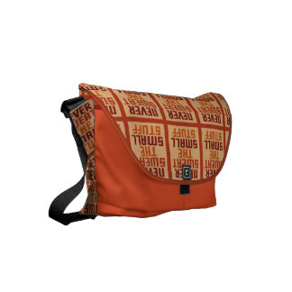 Motivational messenger bags