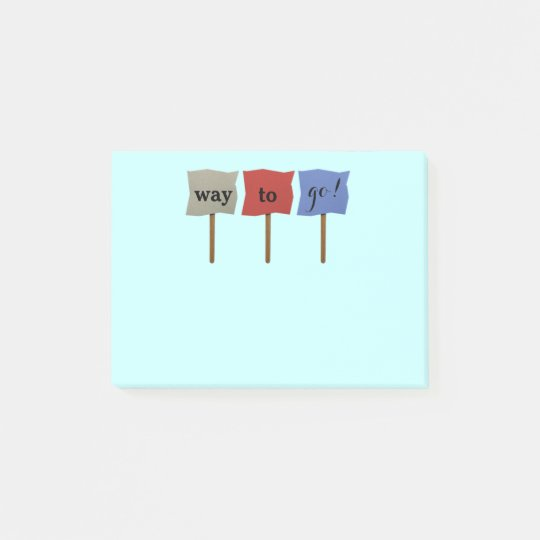 Motivational Post-it® Notes