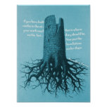 Motivational Poster Thoreau Castle in the air