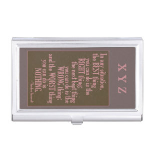 Motivational quotes business card holders cases zazzle motivational quote business card holder colourmoves