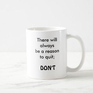motivational quote, coffee mug
