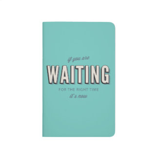 "Motivational retro style typography quote print ""I Journals"
