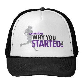 Motivational Running Trucker Hats