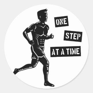 Running man r sticker