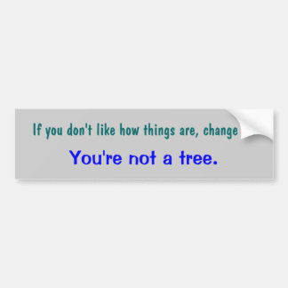 Motivational Sticker Bumper Sticker