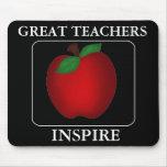 Motivational Teacher Mouse Pad