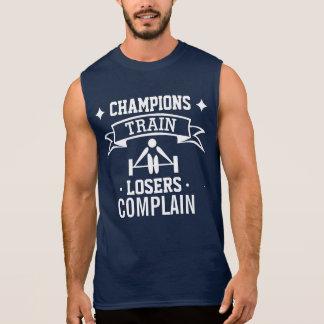 Motivational Typography   Gym Motivation   Fitness Sleeveless Shirt