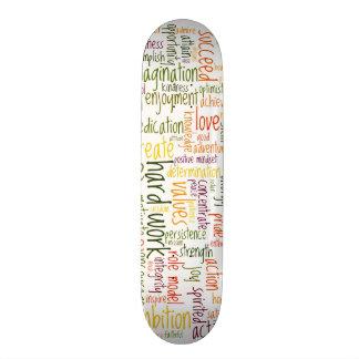 Motivational Words #2 skatedecks 21.3 Cm Mini Skateboard Deck