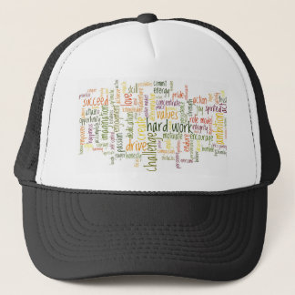 Motivational Words #2 truckers hat