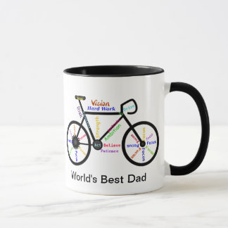 Motivational Words Bike, Cycle Best Dad