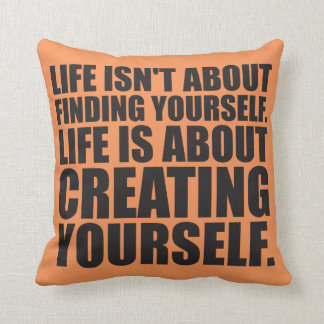 Motivational Words - Create Yourself Cushions