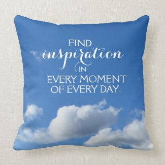 Motivational Words: Find Inspiration ... Cushion