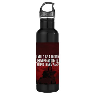 Motivational Words - Getting To The Top 710 Ml Water Bottle