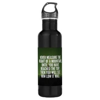 Motivational Words - Mountain 710 Ml Water Bottle