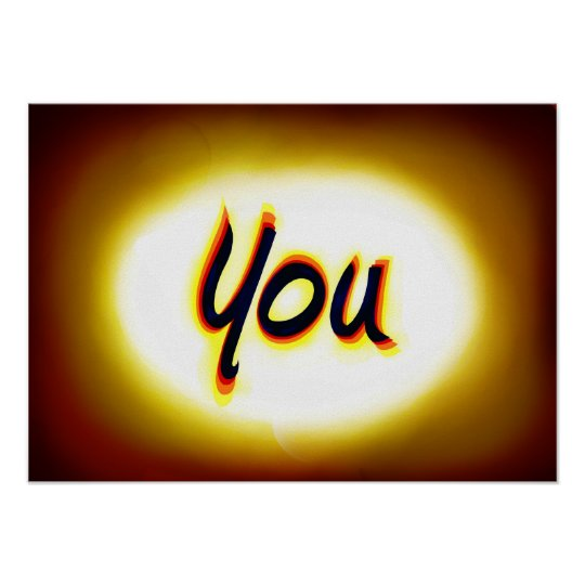 Motivational You Shine Poster Business Wall Youth