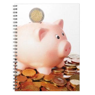 Motive for euro notebooks
