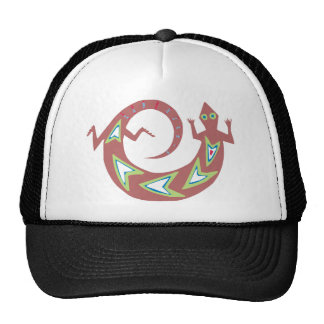 Motive Indian theme native american Hat