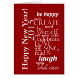 motivtional inspirational happy new year 2015 card