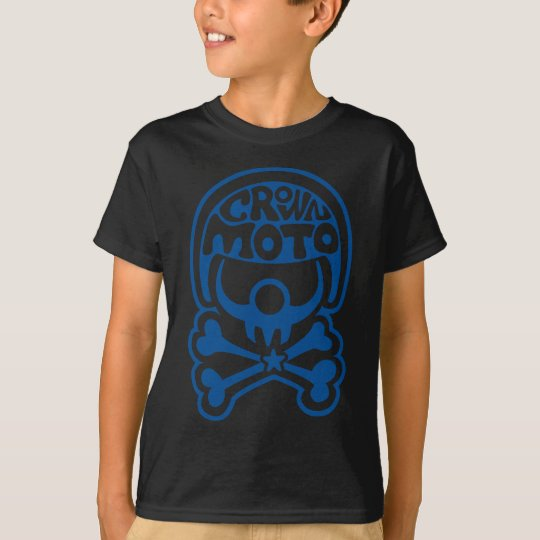 Moto Clown (crisp blue) T-Shirt