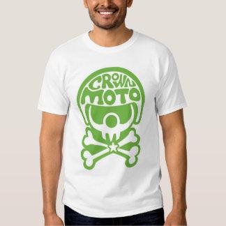 Moto Clown (crisp green) Tshirt