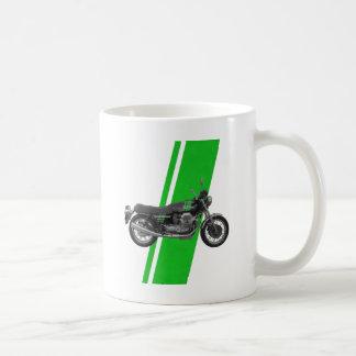 Moto Guzzi - 1000S Vintage Green Basic White Mug