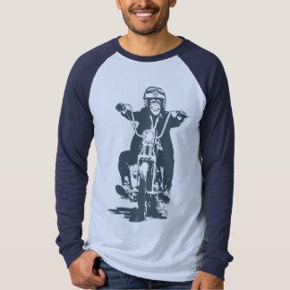 Moto Monkey (slate) T-shirts