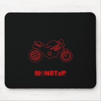 Moto Monster mouse pad