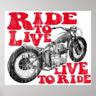 Moto ride poster