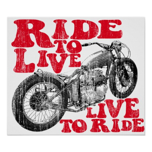 Moto ride posters
