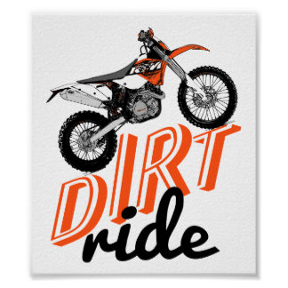 Moto riders poster