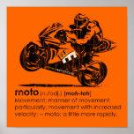 MOTO - The Definition (vintage) Print