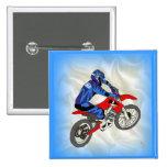Motocross 201 pinback buttons