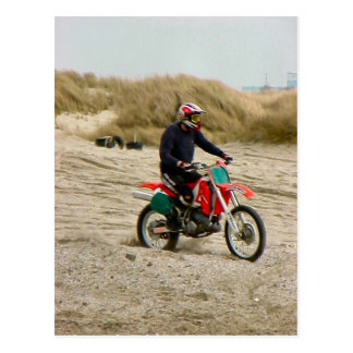 Motocross 3, Dunkerque, France, 1990s Postcard