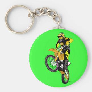 Motocross 400 key ring